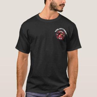 Het vrijwilligers Moderne Kenteken van de T Shirt