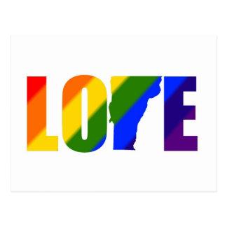 Het vrolijke Briefkaart van de Liefde van Vermont