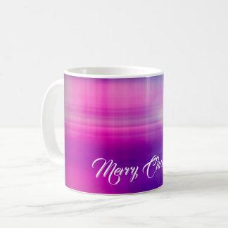 Het vrolijke Kleurrijke Ontwerp van Kerstmis Koffiemok