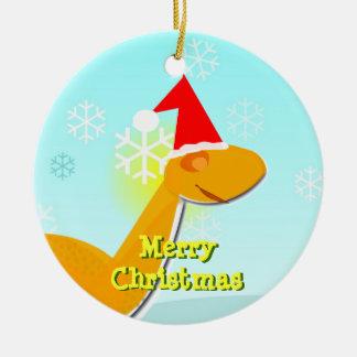 Het vrolijke Ornament van de Dinosaurus van de