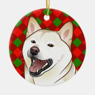 Het vrolijke Ornament van Shiba Inu van de Room