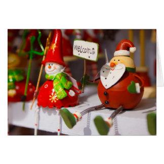 Het vrolijke Wenskaart van Kerstmis