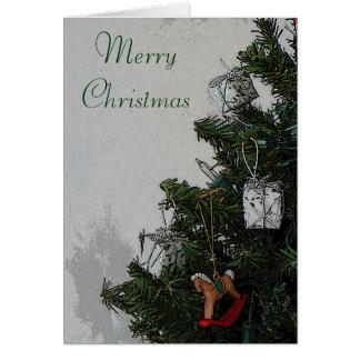 Het vrolijke Wenskaart van Kerstmis door Janz
