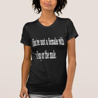 Het vrouw lispeelt, 2b t shirt