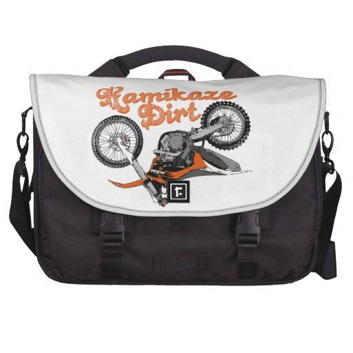 Het Vuil van Moto Tas Voor Laptop