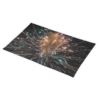 Het Vuurwerk Starburst van de Dag van de Placemat
