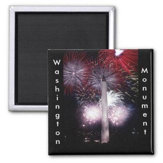 Het Vuurwerk van het Monument van Washington Magneet