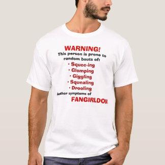 Het waarschuwen: FANGIRL T Shirt