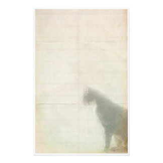 Het wachten Kat Briefpapier Ontwerp