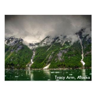 Het Wapen van Tracy, Alaska Briefkaart