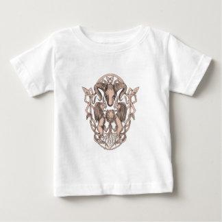 Het Wapenschild Keltische Knotwo van de Boom van Baby T Shirts