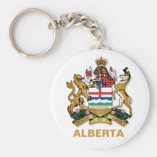 Het wapenschild van Alberta Sleutelhanger