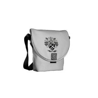 Het Wapenschild van Alexander Family Crest Messenger Bag