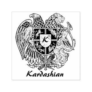 Het Wapenschild van Armenië personaliseert Zelfinktende Stempel