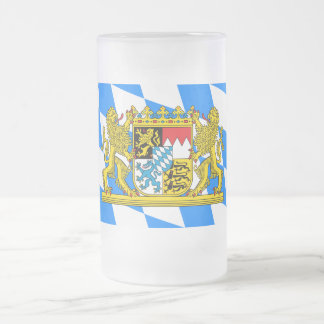 Het Wapenschild van Beieren Matglas Bierpul