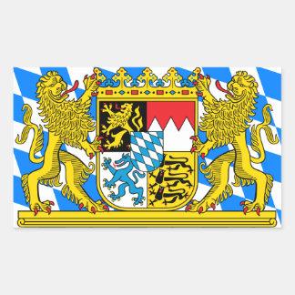 Het Wapenschild van Beieren Rechthoekige Sticker
