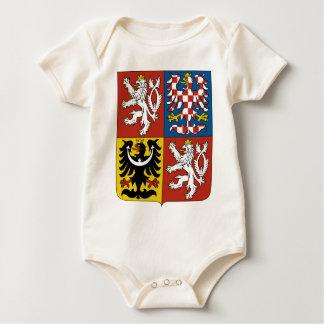 Het Wapenschild van de Tsjechische Republiek Baby Shirt