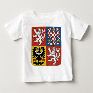 Het Wapenschild van de Tsjechische Republiek Baby T Shirts