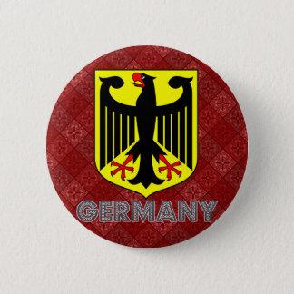 Het Wapenschild van Duitsland Ronde Button 5,7 Cm