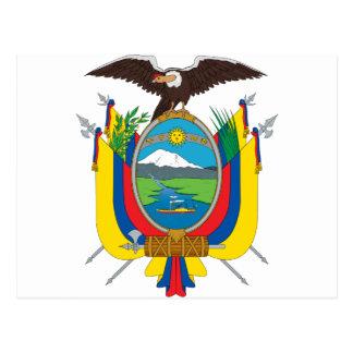 Het Wapenschild van Ecuador Briefkaart