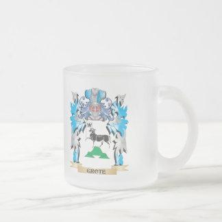 Het Wapenschild van Grote - CREST van de Familie Koffie Mok