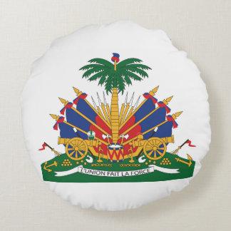 Het Wapenschild van Haïti Rond Kussen