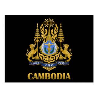Het Wapenschild van Kambodja Briefkaart