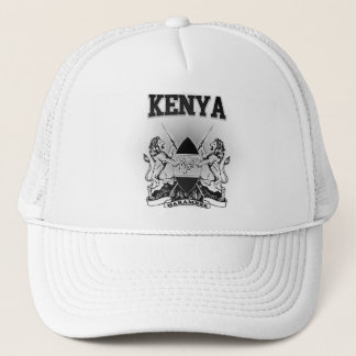 Het Wapenschild van Kenia Trucker Pet