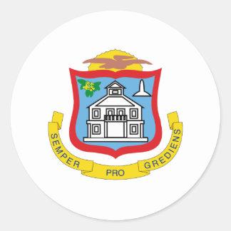 Het wapenschild van Maarteaner van Sint Ronde Sticker