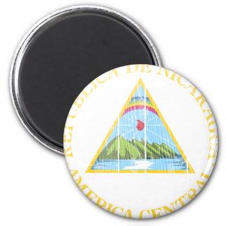 Het Wapenschild van Nicaragua Koelkast Magneten