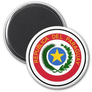 Het Wapenschild van Paraguay Magneet