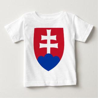 Het wapenschild van Slowakije Baby T Shirts