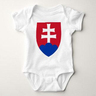 Het wapenschild van Slowakije Romper