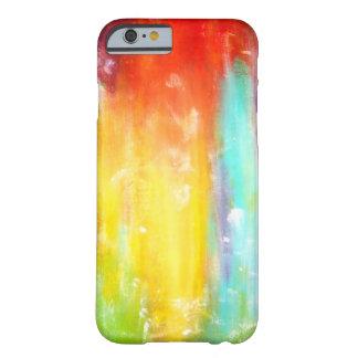 Het ware Abstracte Art. van Kleuren Barely There iPhone 6 Hoesje