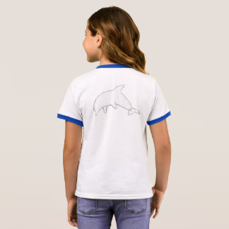Het ware Blauwe Overhemd van de Dolfijn T Shirts