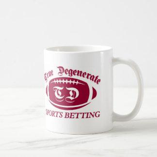 Het ware Gedegenereerde Wedden van Sporten Koffiemok