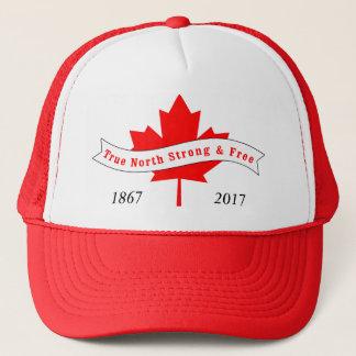 Het Ware Sterk en Vrije Noorden van Canada Trucker Pet