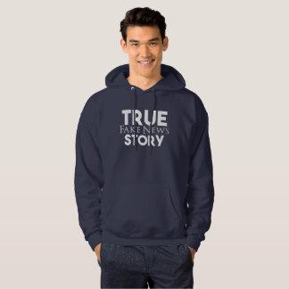 Het ware Valse Nieuws van het Verhaal Hoodie
