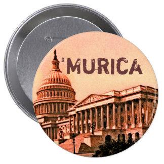 Het Washington DC Murica Amerika 1900 van de Bouw Ronde Button 4,0 Cm