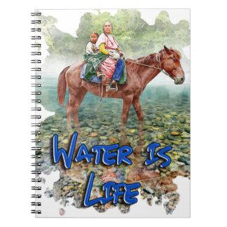 Het water is het Leven Ringband Notitieboek