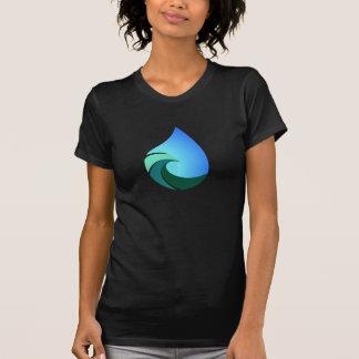 Het water van de golf laat vallen Deze Zoute T Shirt