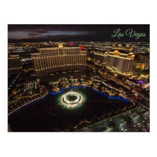 Het Water van Las Vegas toont Briefkaart