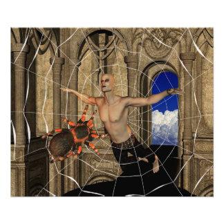 Het Web van spinnen Foto