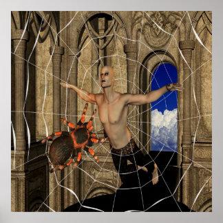 Het Web van spinnen Poster