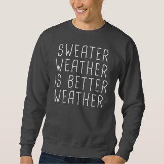 Het Weer van de sweater is Beter Weer