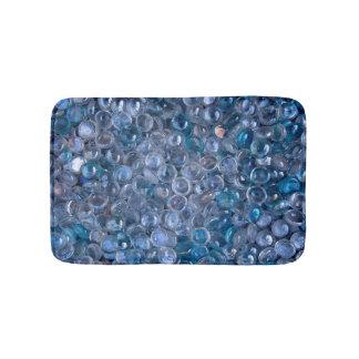 Het weerspiegelende Waterige Blauwe en Duidelijke Badmat