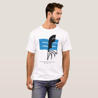 Het wegknippen de Kleur van het Logo van het Boek T Shirt