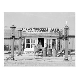 Het Wegrestaurant van Texas, 1939 Briefkaart