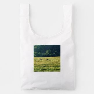 Het Weiden van Deers Herbruikbare Tas