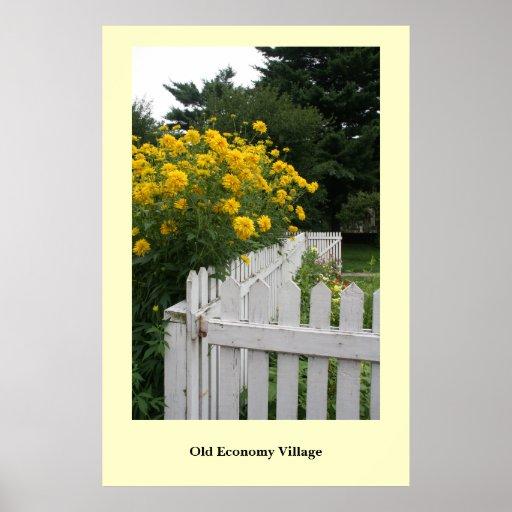 Het welkom heten Bloemen Posters